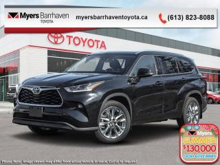 New 2020 Toyota Highlander Limited  - Leather Seats - $372 B/W for sale in Ottawa, ON