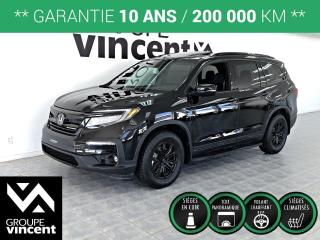 Used 2020 Honda Pilot BLACK EDITION ** GARANTIE 10 ANS ** Démonstrateur! for sale in Shawinigan, QC