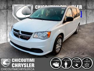 Used 2020 Dodge Grand Caravan SXT 2RM for sale in Chicoutimi, QC
