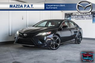 Used 2018 Toyota Camry AUTOMATIQUE,CUIR ROUGE,TOIT PANO,BLUETOOTH for sale in Montréal, QC