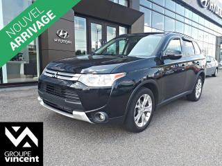 Used 2015 Mitsubishi Outlander SE AWD ** GARANTIE 10 ANS ** VUS spacieux au look très classe! for sale in Shawinigan, QC