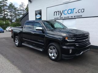 Used 2017 Chevrolet Silverado 1500 1LZ LEATHER, NAV, Z71, RUNNING BOARDS, 20