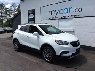 Used 2020 Buick Encore Sport Touring SUNROOF, HEATED SEATS, ALLOYS, MYCAR POWERBUY!! for sale in Richmond, ON