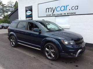 Used 2014 Dodge Journey Crossroad V6, LEATHER, LOADED CROSSROAD!! for sale in Richmond, ON