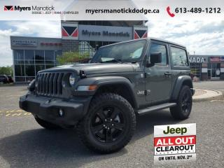 Used 2020 Jeep Wrangler Sport  - Off-Road Ready -  Uconnect for sale in Ottawa, ON