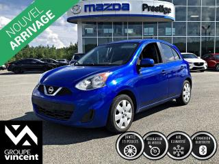Used 2015 Nissan Micra SV ** GARANTIE 10 ANS ** Pratique, agile, et amusante à conduire! for sale in Shawinigan, QC