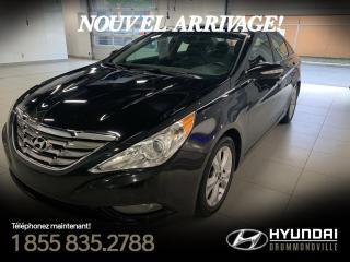 Used 2012 Hyundai Sonata LIMITED + GARANTIE + TOIT PANO + A/C + C for sale in Drummondville, QC