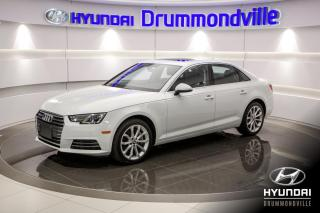Used 2017 Audi A4 GARANTIE + NAVI + TOIT + MAGS + CUIR + W for sale in Drummondville, QC