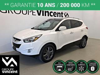Used 2015 Hyundai Tucson GLS TOIT PANORAMIQUE ** GARANTIE 10 ANS ** Fiable et polyvalent! for sale in Shawinigan, QC