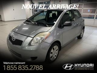 Used 2008 Toyota Yaris A/C + FIABLE + BEAU + PAS CHER + WOW for sale in Drummondville, QC