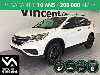 Used 2015 Honda CR-V LX AWD ** GARANTIE 10 ANS ** VUS fiable et sécuritaire! for sale in Shawinigan, QC