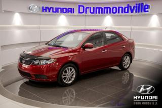 Used 2012 Kia Forte EX + GARANTIE + A/C + MAGS + WOW !! for sale in Drummondville, QC