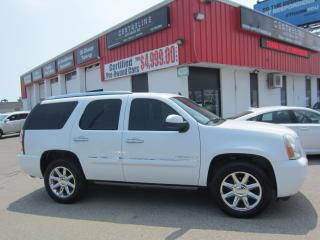Used 2008 GMC Yukon Denali 13,995+HST+LIC FEE / DENALI PACKAGE / CERTIFIED / DVD / for sale in North York, ON