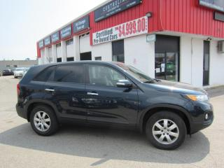 Used 2012 Kia Sorento LX $7,995+HST+LIC FEE / CLEAN CARFAX / CERTIFIED for sale in North York, ON