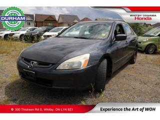 Used 2004 Honda Accord 4dr Sdn EX-L Manual for sale in Whitby, ON