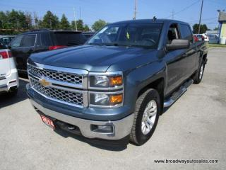Used 2014 Chevrolet Silverado 1500 WORK READY LT EDITION 6 PASSENGER 5.3L - V8.. 4X4.. CREW-CAB.. SHORTY.. TRAILER BRAKE.. BACK-UP CAMERA.. BLUETOOTH SYSTEM.. KEYLESS ENTRY.. for sale in Bradford, ON
