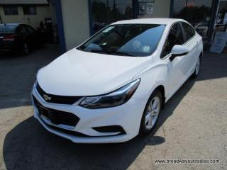 Used 2016 Chevrolet Cruze LIKE NEW LT EDITION 5 PASSENGER 1.4L - TURBO.. HEATED SEATS.. TOUCH SCREEN.. BACK-UP CAMERA.. BLUETOOTH SYSTEM.. KEYLESS ENTRY & START.. for sale in Bradford, ON