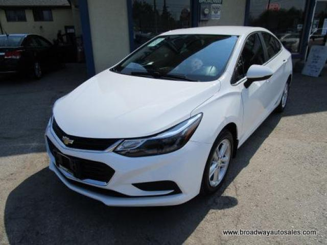 2016 Chevrolet Cruze LIKE NEW LT EDITION 5 PASSENGER 1.4L - TURBO.. HEATED SEATS.. TOUCH SCREEN.. BACK-UP CAMERA.. BLUETOOTH SYSTEM.. KEYLESS ENTRY & START..