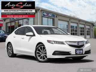Used 2016 Acura TLX SH-AWD ONLY 98K! **TECHNOLOGY PKG** CLEAN CARPROOF for sale in Scarborough, ON