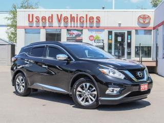 Used 2015 Nissan Murano AWD 4dr SL for sale in North York, ON