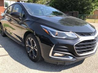 Used 2019 Chevrolet Cruze LT RS Package! Heated Seats, BackupCam, AutoStart and Apple/Android Play! for sale in Kemptville, ON