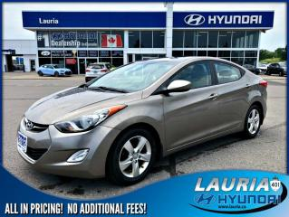 Used 2012 Hyundai Elantra GLS Auto - Low kms for sale in Port Hope, ON