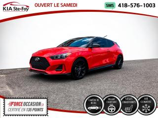 Used 2019 Hyundai Veloster * TURBO* TECH PERFORMANCE* MANUELLE * for sale in Québec, QC
