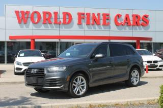 Used 2018 Audi Q7 3.0T Progressiv | *One Owner* | Accident Free! | 7 Seats! for sale in Etobicoke, ON