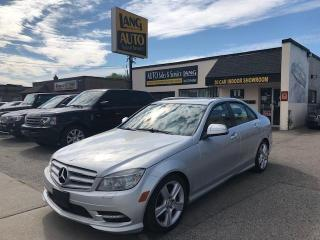 Used 2011 Mercedes-Benz C-Class 4-MATIC, WELL MAINTAINED, NAV for sale in Etobicoke, ON