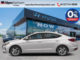 New 2020 Hyundai Elantra Luxury  -  Sunroof - $158 B/W for sale in Nepean, ON