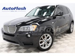 Used 2014 BMW X3 2.8i xDrive Premium *GPS *Toit-Pano-Roof for sale in St-Hubert, QC