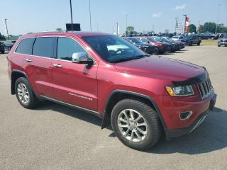 Used 2014 Jeep Grand Cherokee 4WD Limited Sunroof, HTD Seats & Wheel, Backup Cam for sale in Ingersoll, ON