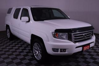 Used 2013 Honda Ridgeline Touring 3.5L V6, 4X4, ARE LOCKABLE BED CAP, LEATHER, 8