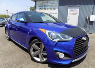 Used 2013 Hyundai Veloster **TURBO,CUIR,TOIT PANO,NAVIGATION** for sale in Longueuil, QC