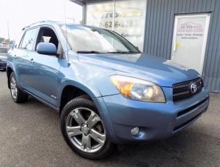 Used 2008 Toyota RAV4 **SPORT,4X4,V6,MAGS,A/C*** for sale in Longueuil, QC