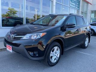 Used 2015 Toyota RAV4 LE XTRA WARRANTY-100,000 KMS! for sale in Cobourg, ON