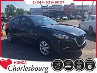 Used 2018 Mazda MAZDA3 GX**CLIMATISEUR+BLUETOOTH** for sale in Charlesbourg, QC