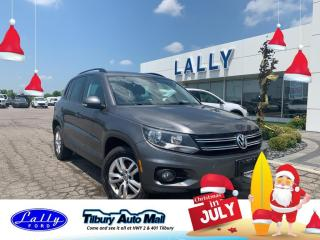 Used 2015 Volkswagen Tiguan Trendline, Local Trade!! for sale in Tilbury, ON