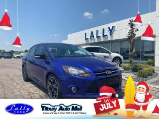 Used 2014 Ford Focus SE, Sport package, Local Trade!! for sale in Tilbury, ON