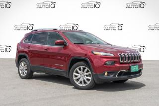 Used 2014 Jeep Cherokee Limited for sale in Barrie, ON