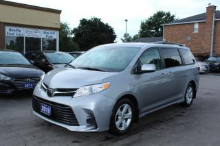 Used 2018 Toyota Sienna LE 8 Passengers Power Doors for sale in Brampton, ON