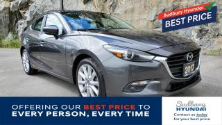 Used 2017 Mazda MAZDA3 GT Heated seats! Remote start! One owner! for sale in Sudbury, ON
