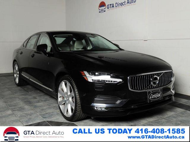 2017 Volvo S90 T6 Inscription AWD Nav Sun Bowers BLIS Certified