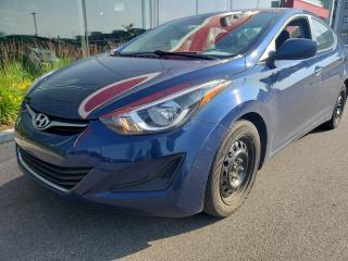 Used 2016 Hyundai Elantra *GL*AIR*CRUISE*SIÈGES CHAUFF* for sale in Québec, QC