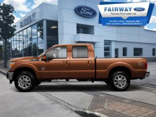 Used 2012 Ford F-250 Super Duty S/D Lariat Crew Cab 4WD for sale in Steinbach, MB