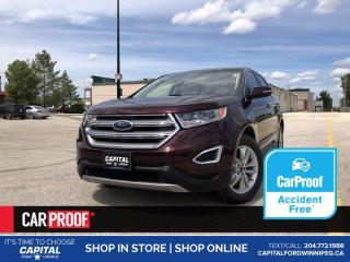 Used 2017 Ford Edge SEL AWD *Ask About 2.9%! for sale in Winnipeg, MB