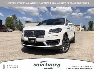 New 2020 Lincoln Nautilus RESERVE for sale in Winnipeg, MB
