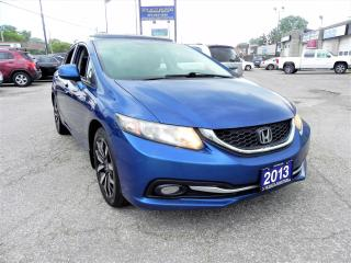 Used 2013 Honda Civic TOURING FULLY LOADED for sale in Windsor, ON