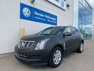 Used 2015 Cadillac SRX LUXURY AWD - LOADED - MATTE BLACK WRAPPED for sale in Edmonton, AB