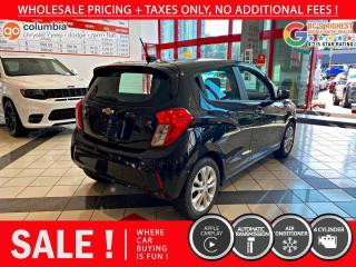 Used 2019 Chevrolet Spark LT Auto AC Back Up Cam! for sale in Richmond, BC